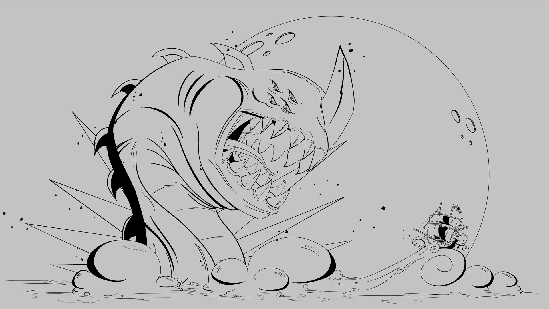 Eren ozel sea monster 1920x1080