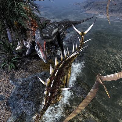 Kurt miller f kentrosaurusvsallosaurusv2