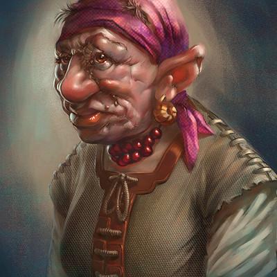Matej kovacic dwarf grandmother by matej kovacic