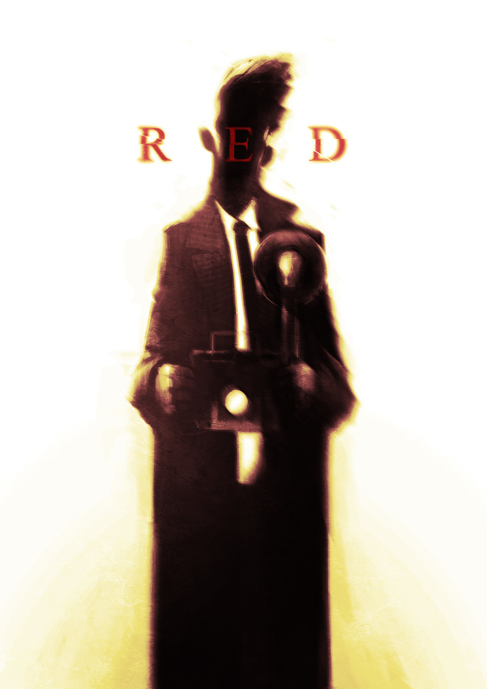 Alex charleux red a4poster