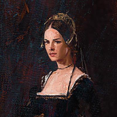 Grzegorz rutkowski medieval lady study 1200