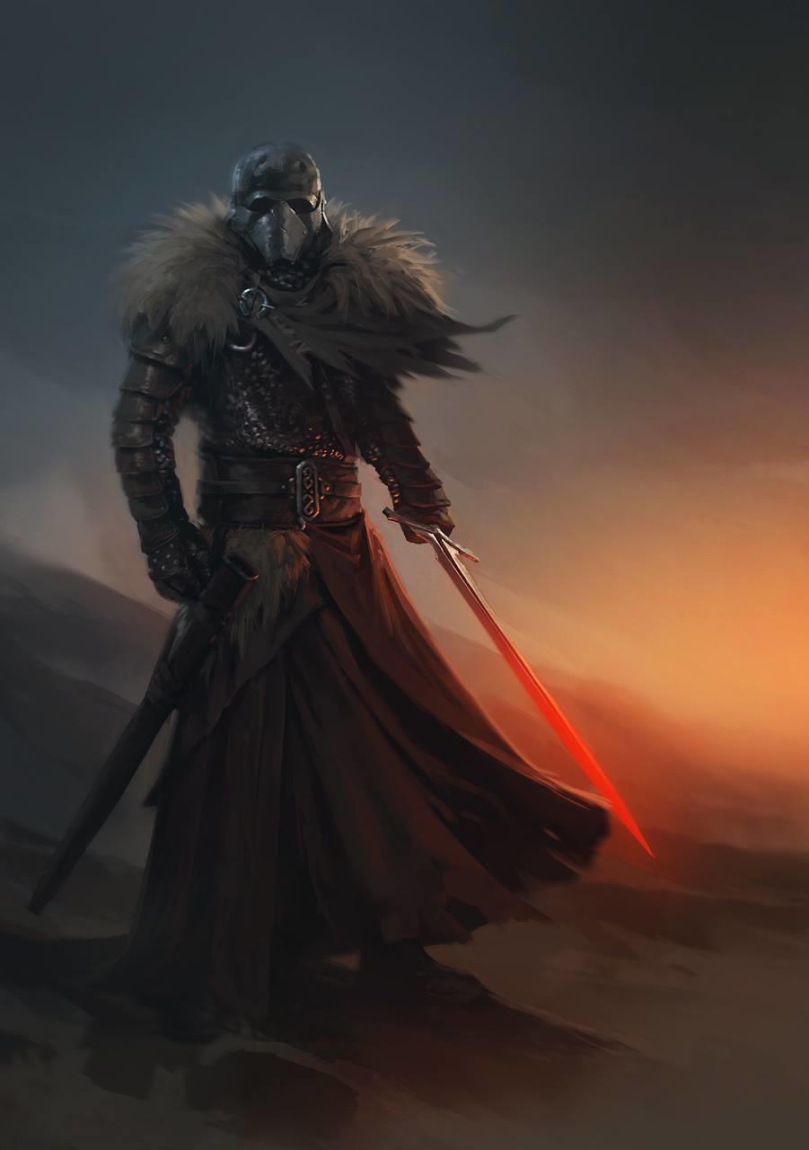 Alex charleux medieval kylo ren