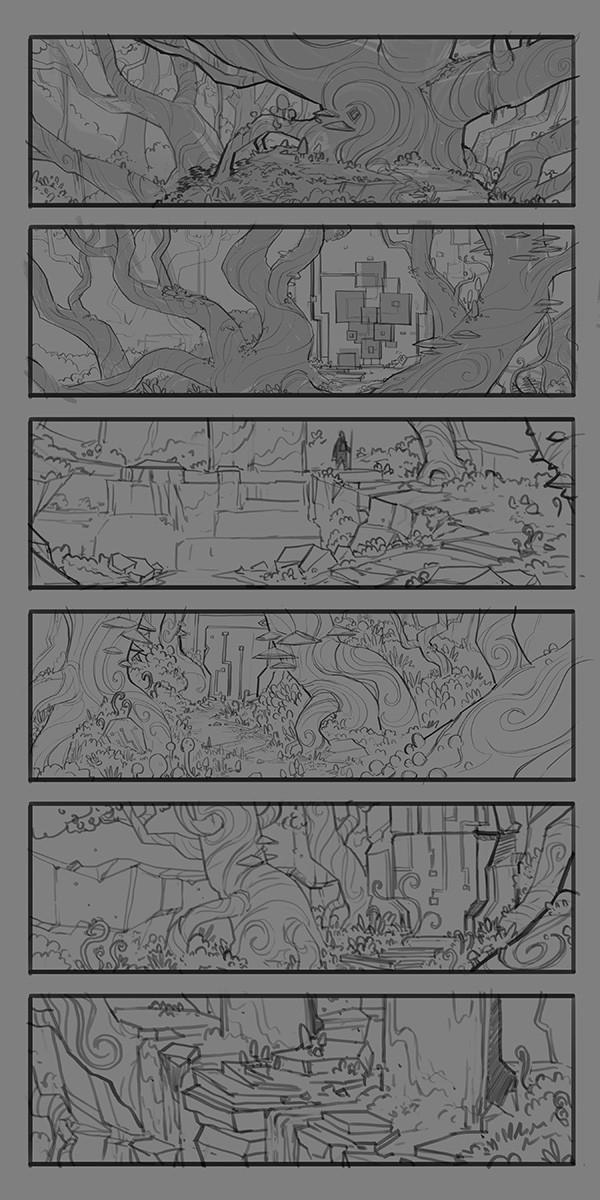 Tim kaminski forest sketches 2 web