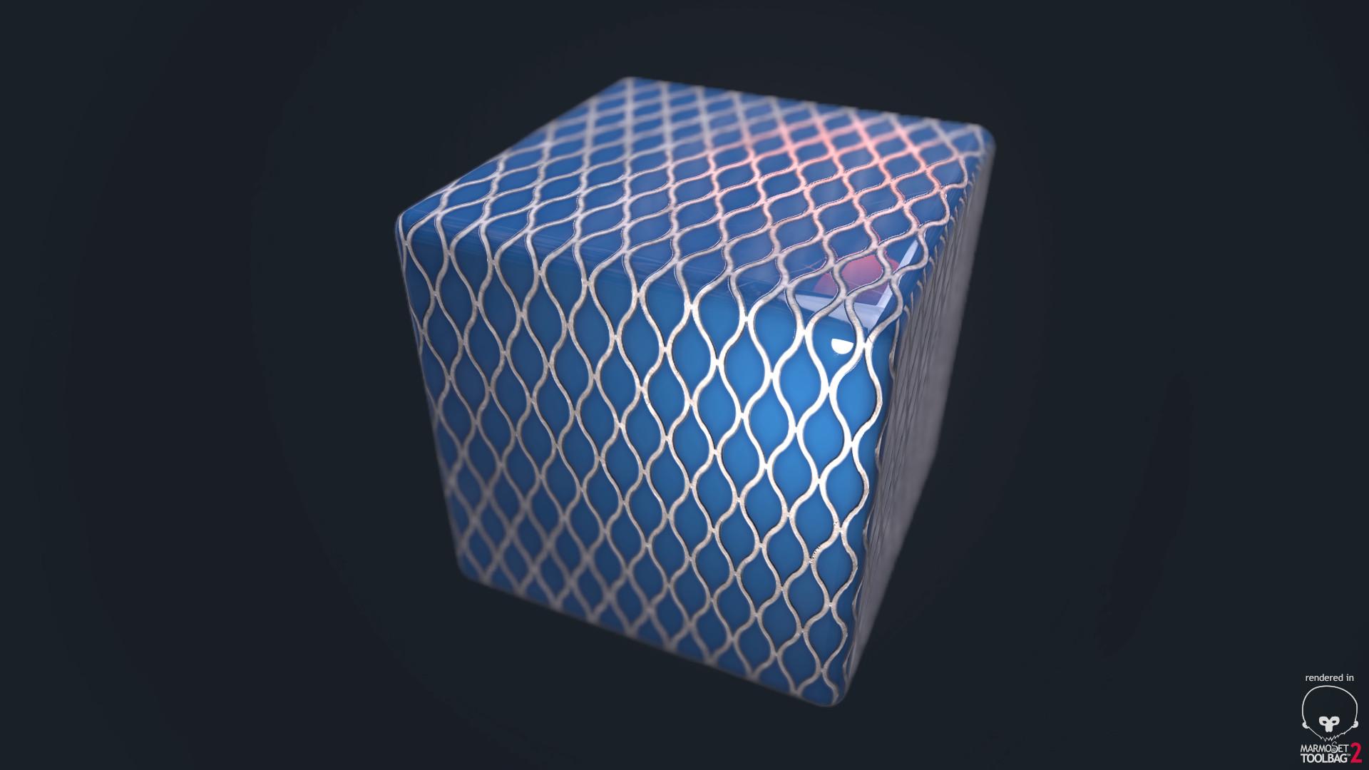 Ole midthun blue tiles 1