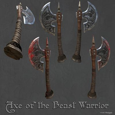Dan burke axe beastwarrior