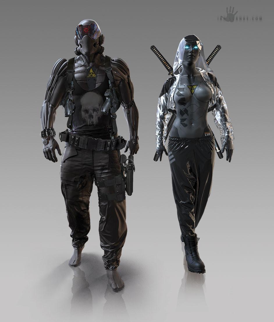 Ian llanas cyborg android