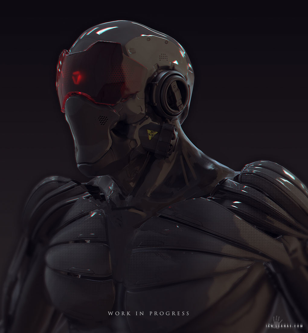 Ian llanas roboheadmoneyshot