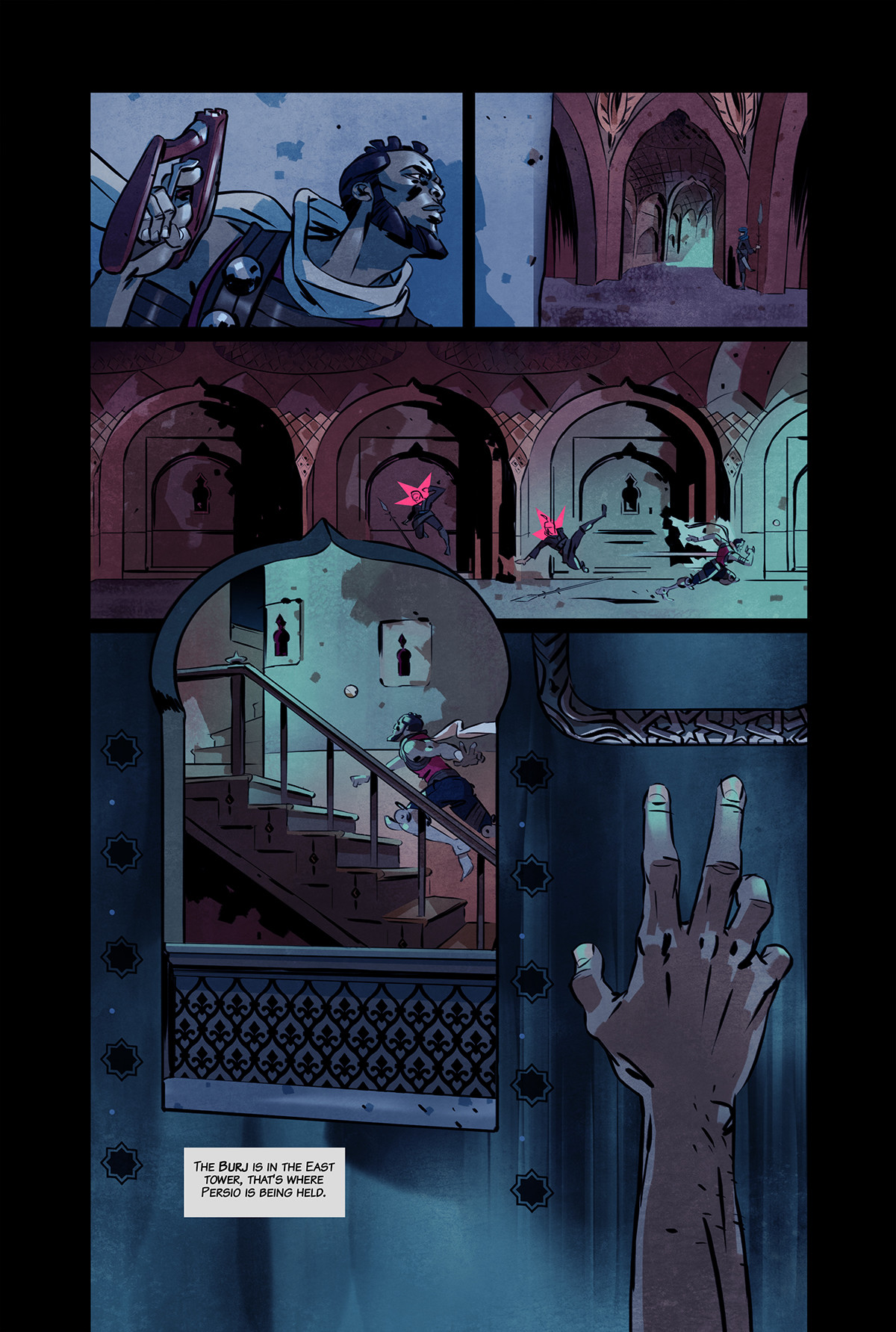 Shof coker outcasts of jupiter page10 color veryhi