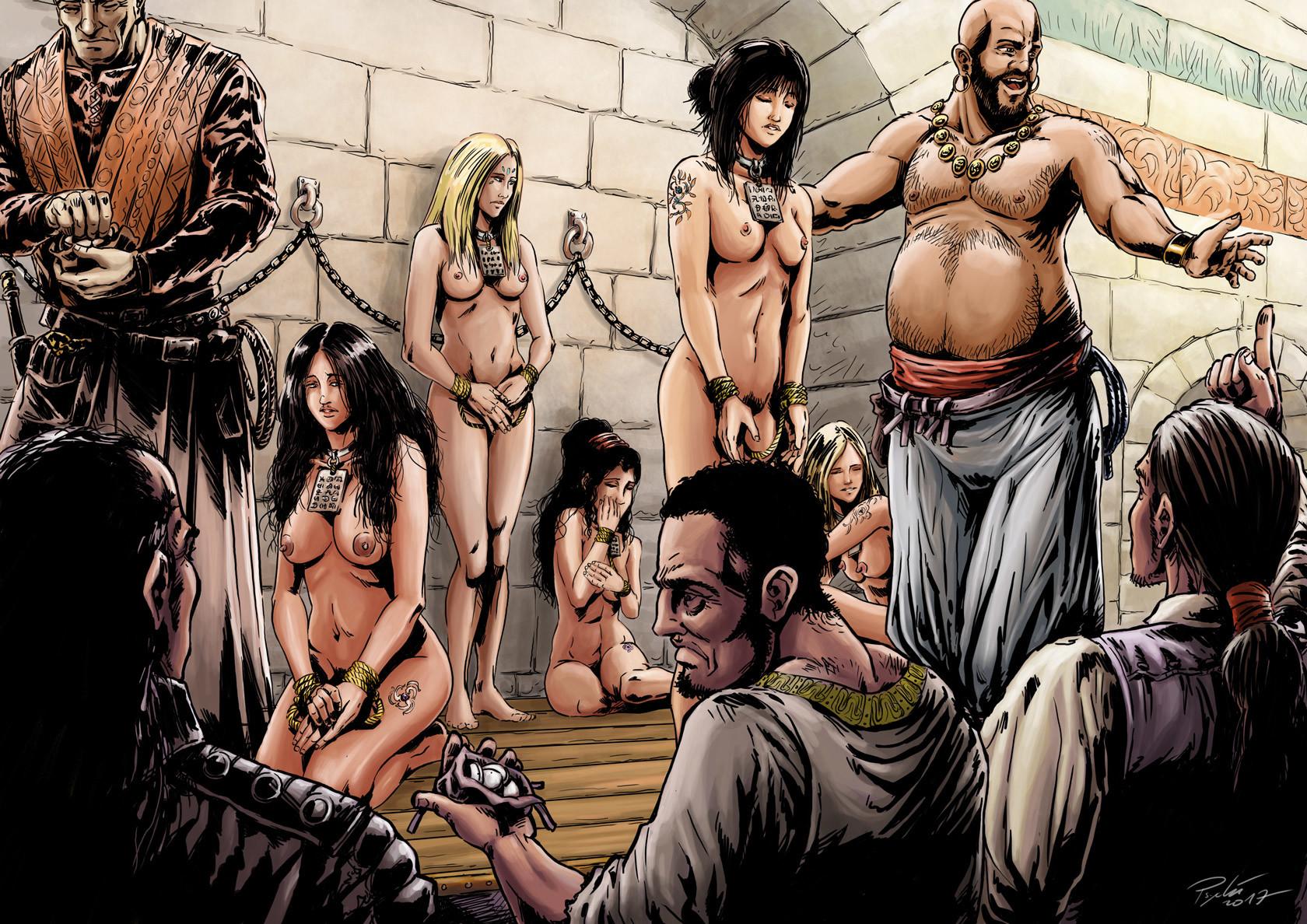 Axelle bouet slave market final