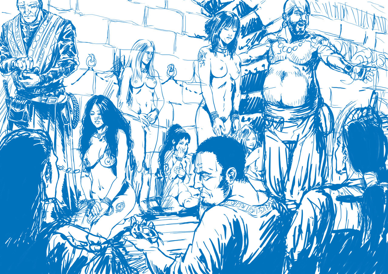 Axelle bouet slave market3