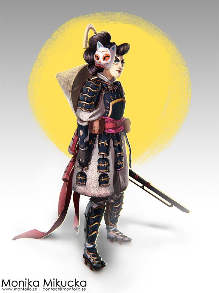Monika mikucka samuriwoman