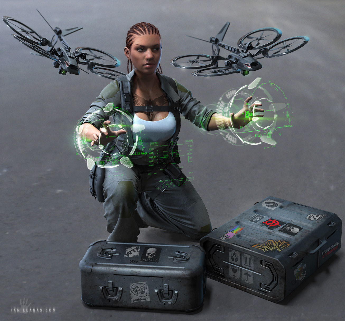 Ian llanas droenpilotredux