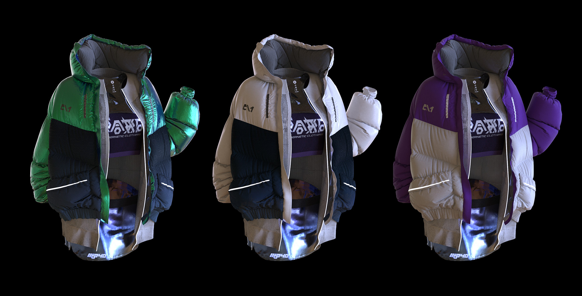 Oleg zherebin jackets