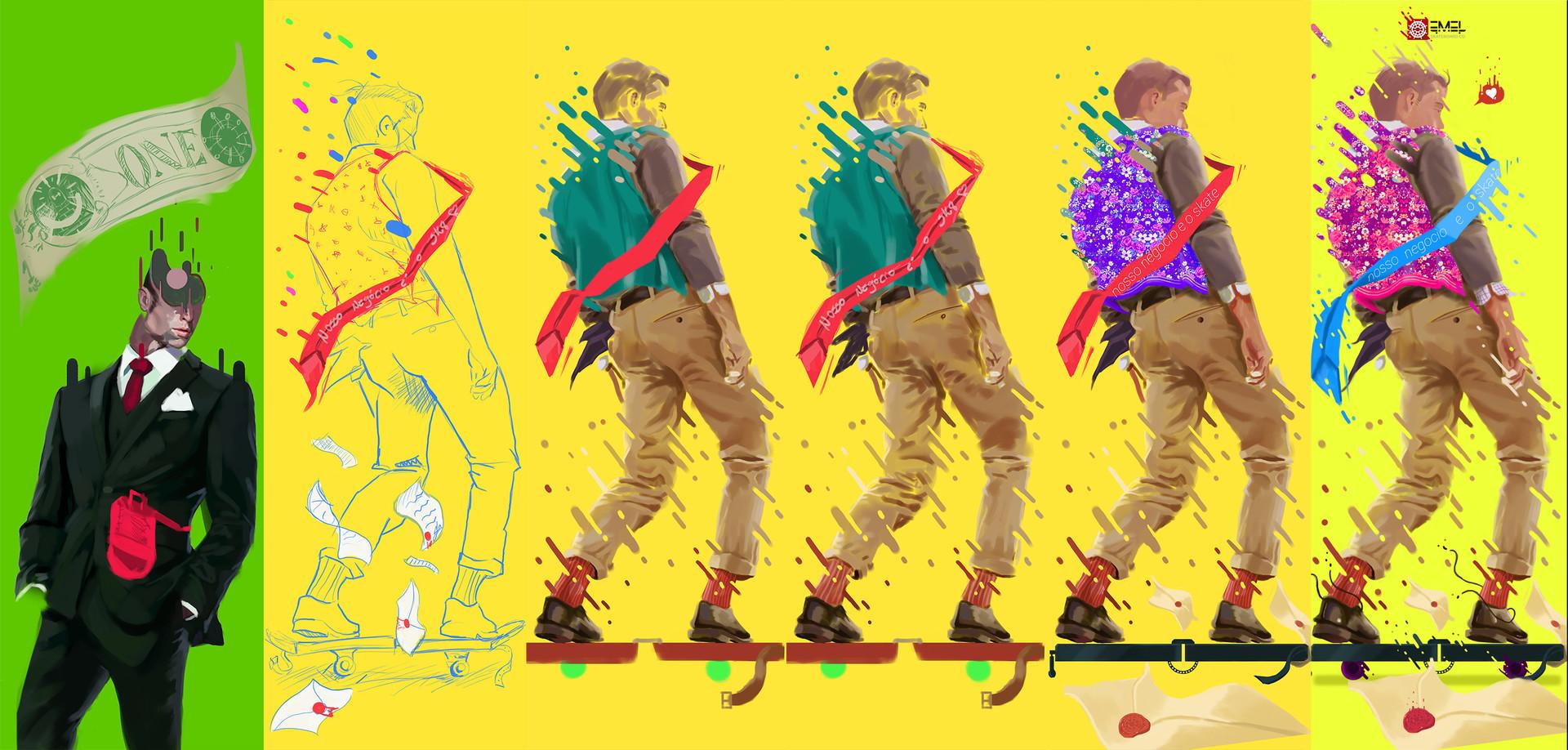 Marcos mansur our bussines is skate process