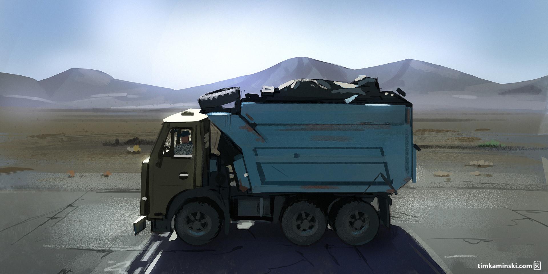 Tim kaminski truck