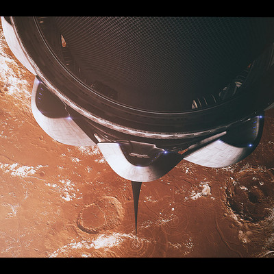 Glenn clovis space elevator mars by glennclovis