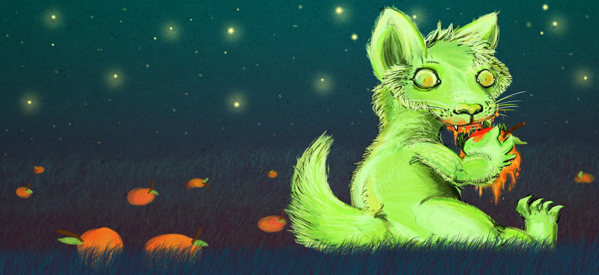 Alexandra hall pinner small green monster post