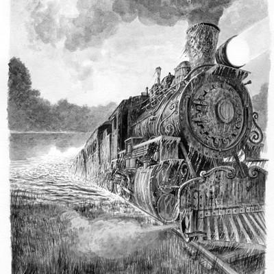 Loic canavaggia la folle locomotive 001