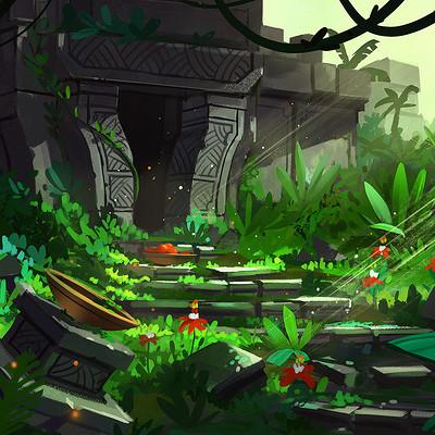 Tim kaminski jungle temple web