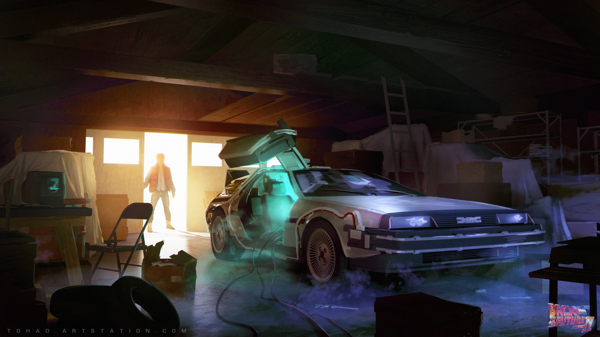 Back to Future 4 garage concept