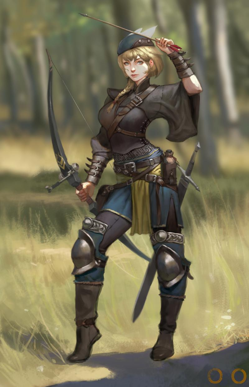 Joo archer girl04