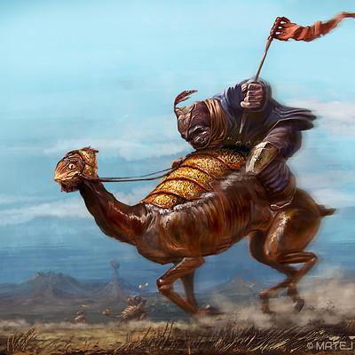 Matej kovacic deep space horse race by matej kovacic