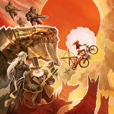 Alexandre chaudret pep steampunk rhapsodies final viewer
