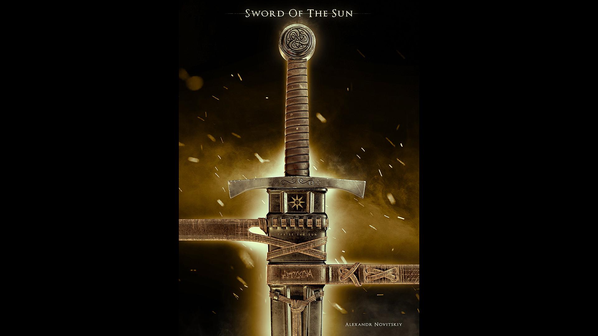 Alexandr novitskiy dark knight sword var 02