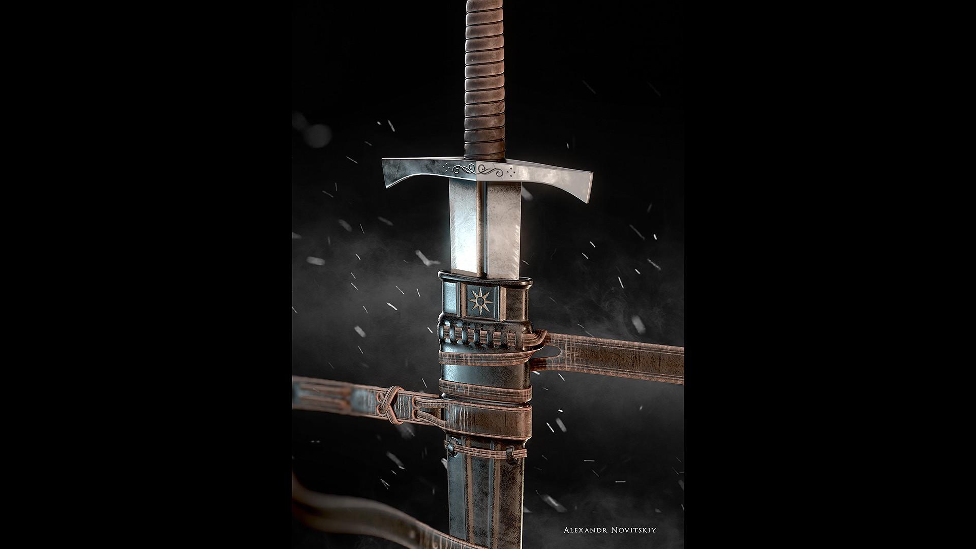 Alexandr novitskiy dark knight sword 03