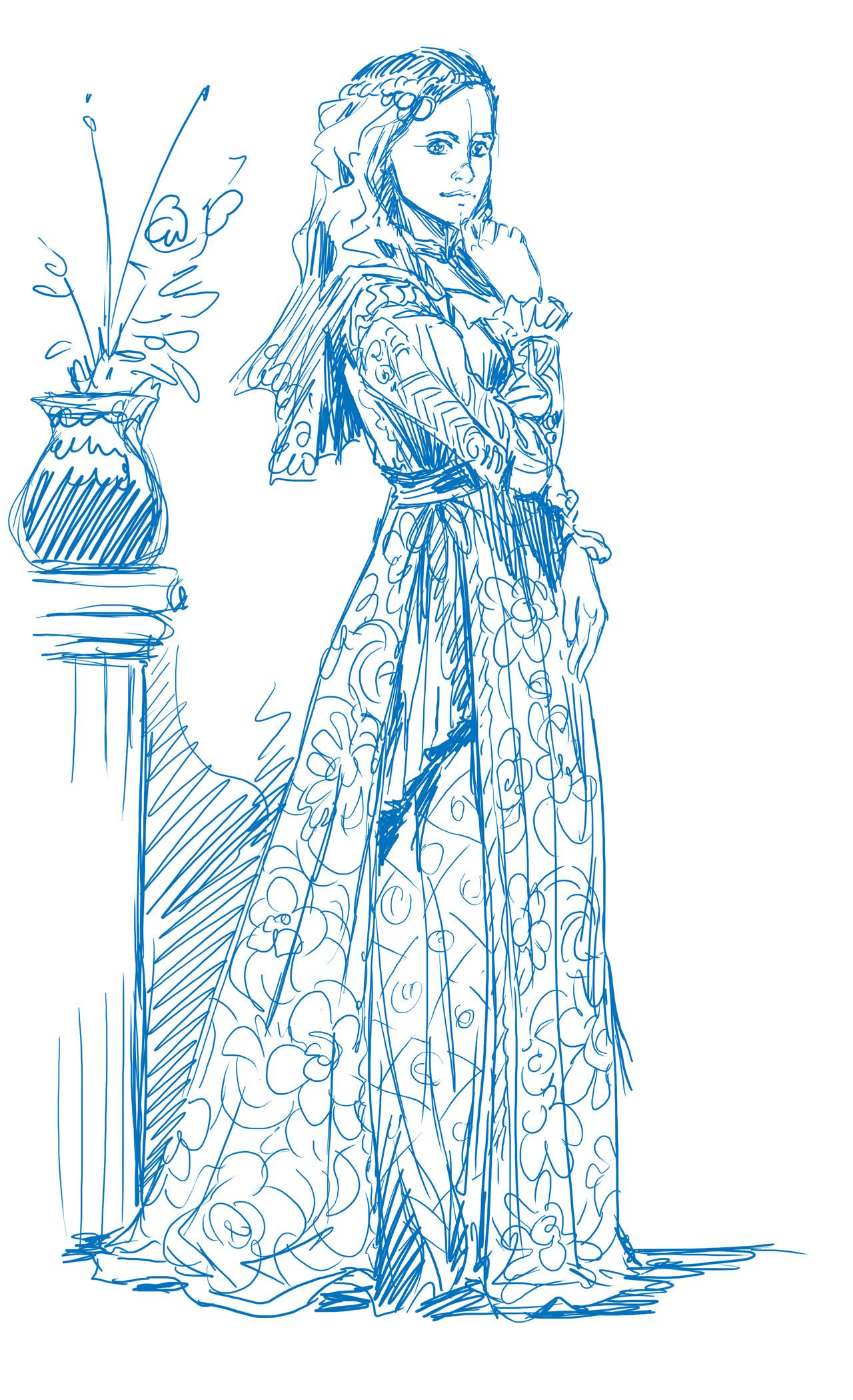 Axelle bouet eteoclienne robe