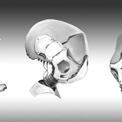 Matej kovacic robot helmet design 001 by matej kovacic