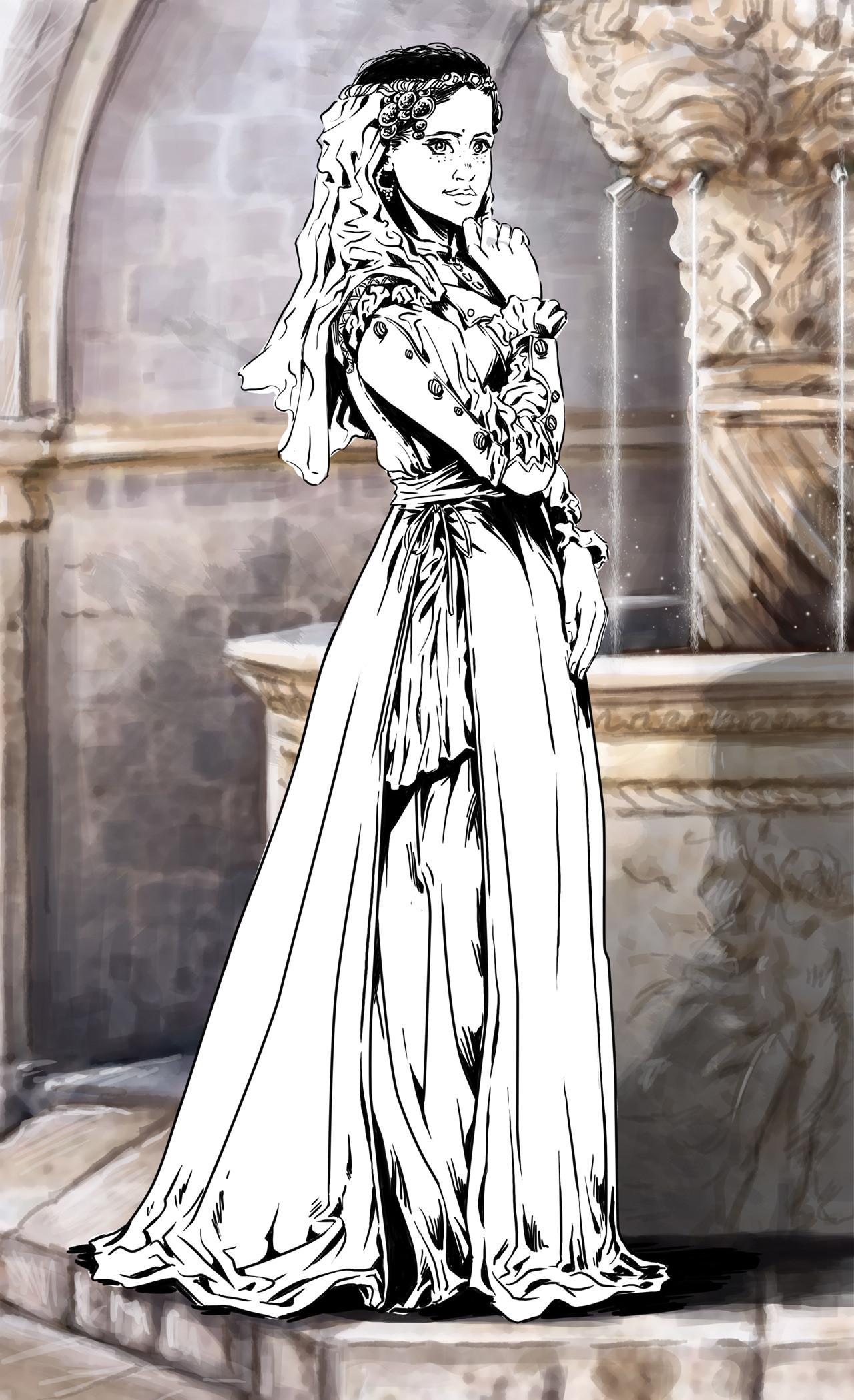 Axelle bouet eteoclienne robe4