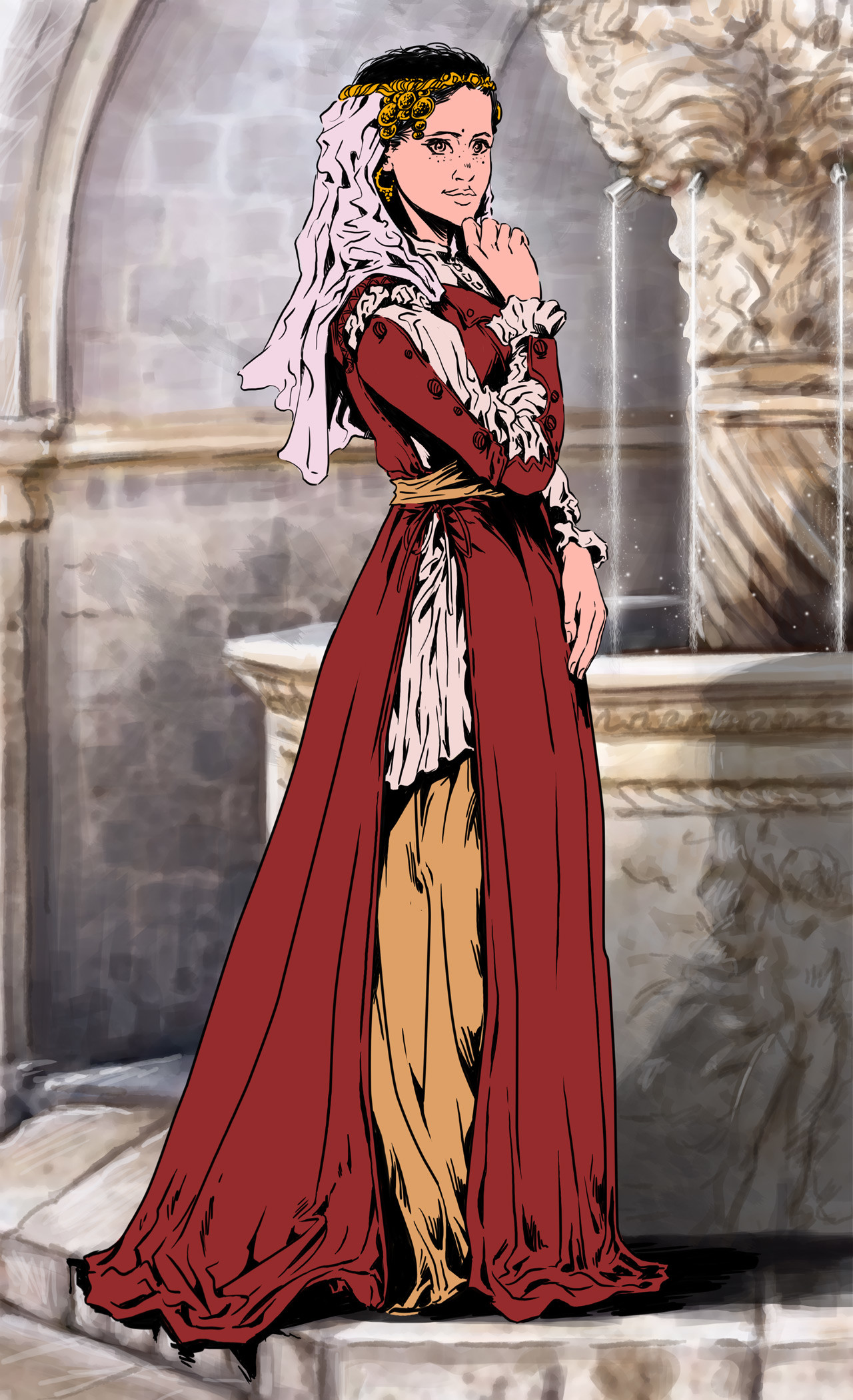 Axelle bouet eteoclienne robe5