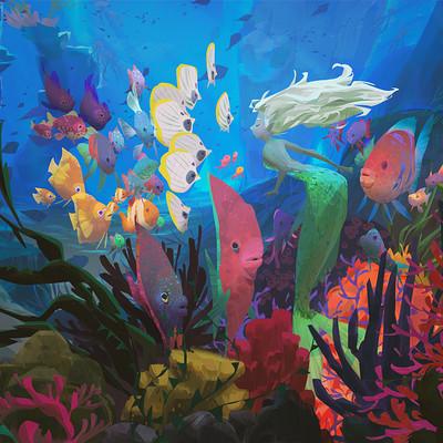 Iris muddy a underwaterfishss