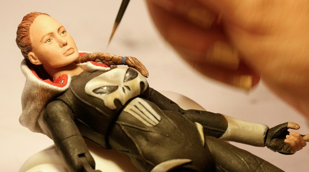 Michael enea how to paint lady punisher