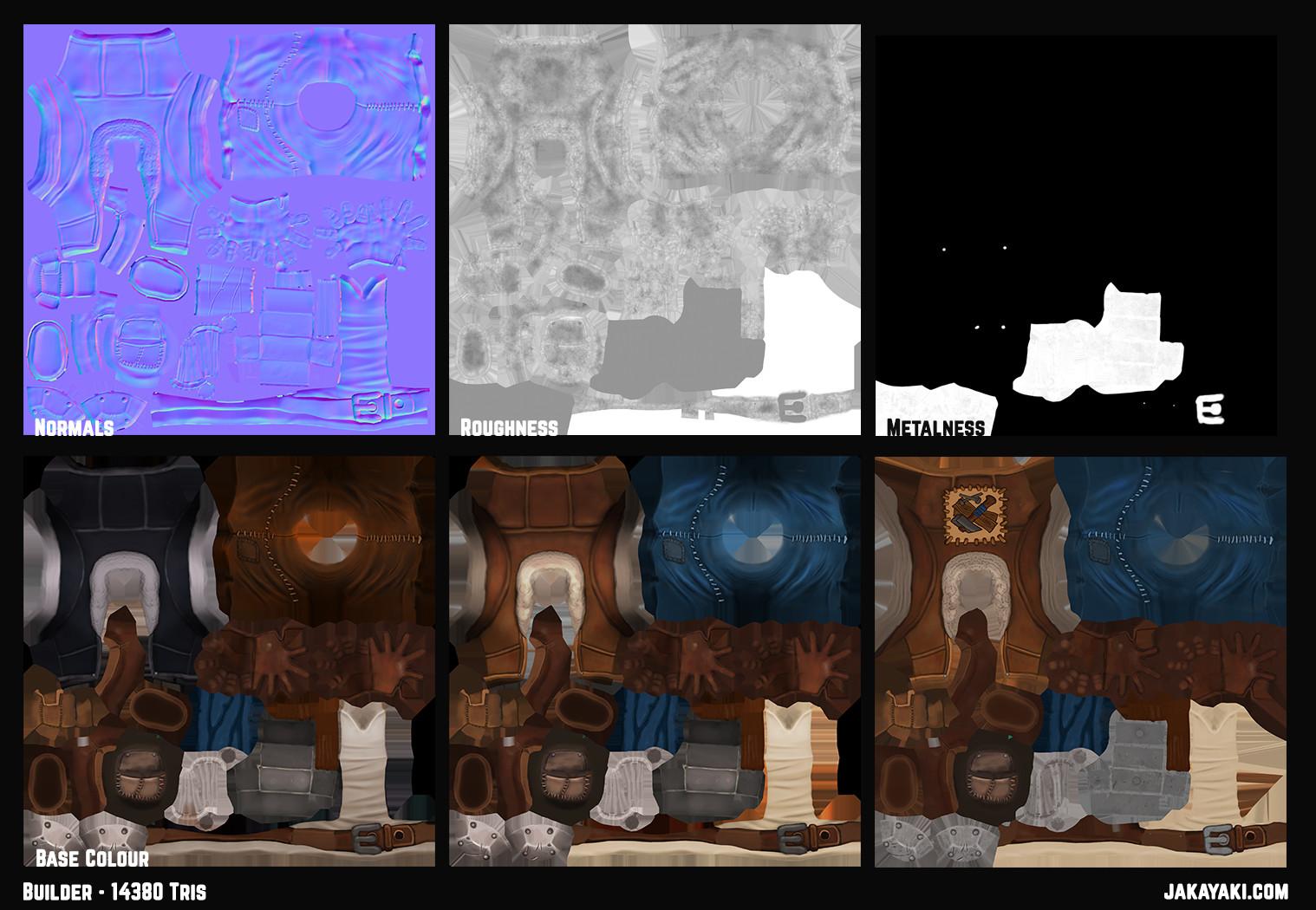 Jacqueline king jakayaki builder texturemap