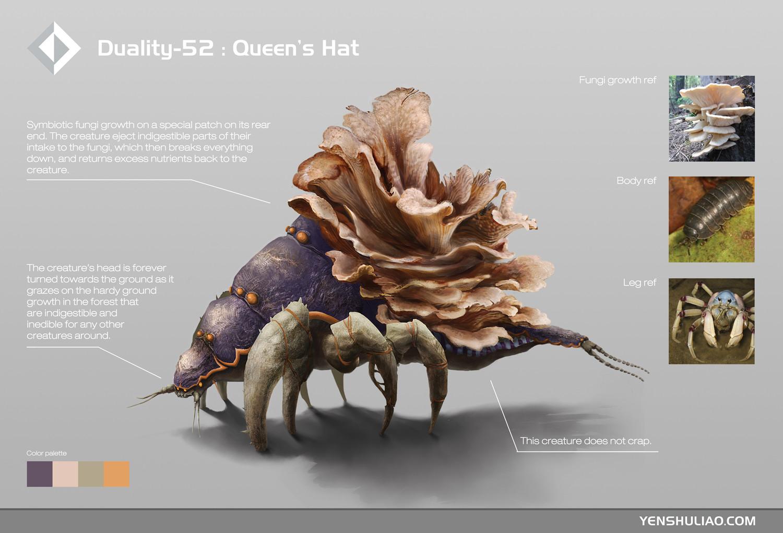 Duality-52 : Queen's Hat