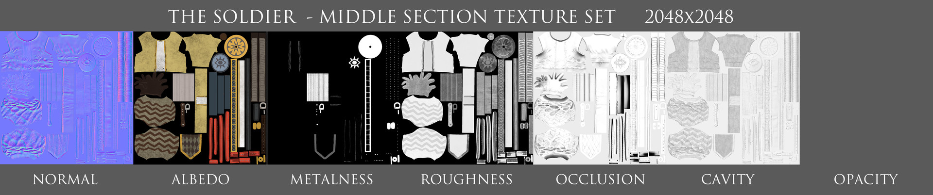 Andrew constantine middle texturesets