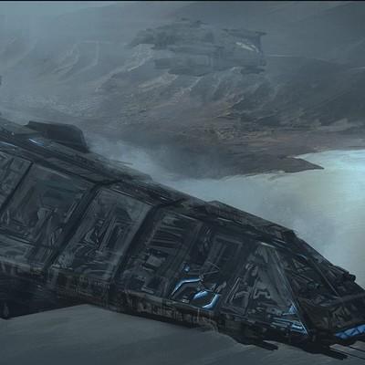 David tilton scifi destroyer obj 3 v11