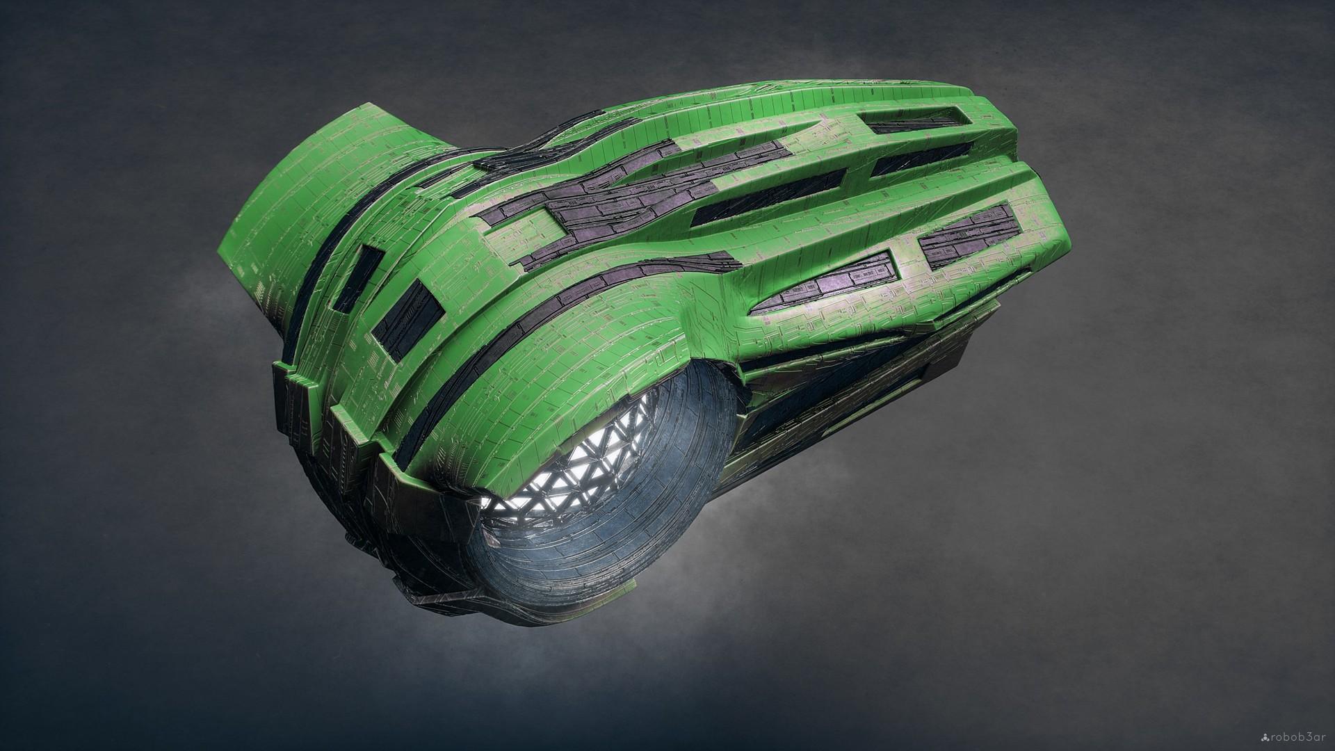 Kresimir jelusic robob3ar 463 190117 ship green ps custom