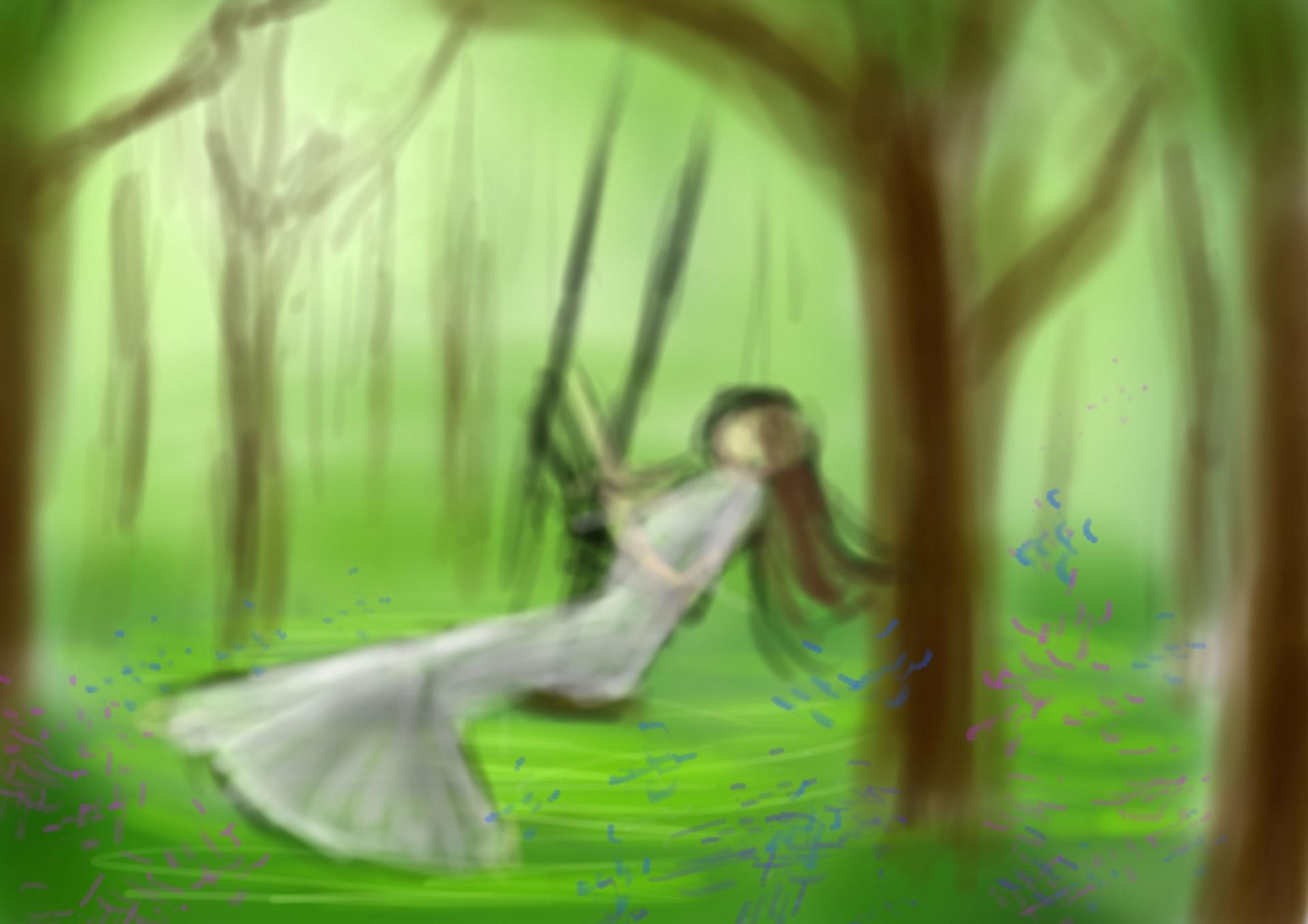 Akai shoku spring sketch