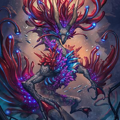 Titapa khemakavat sa dui monster sa dui coral reef dragon 01