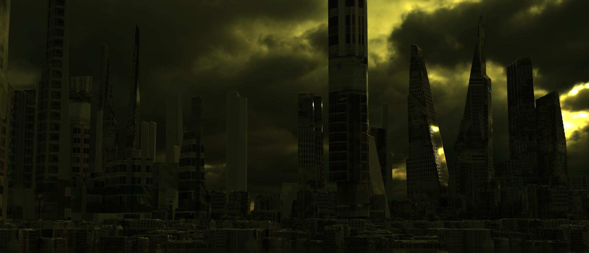 Duncan halleck scifi city 4