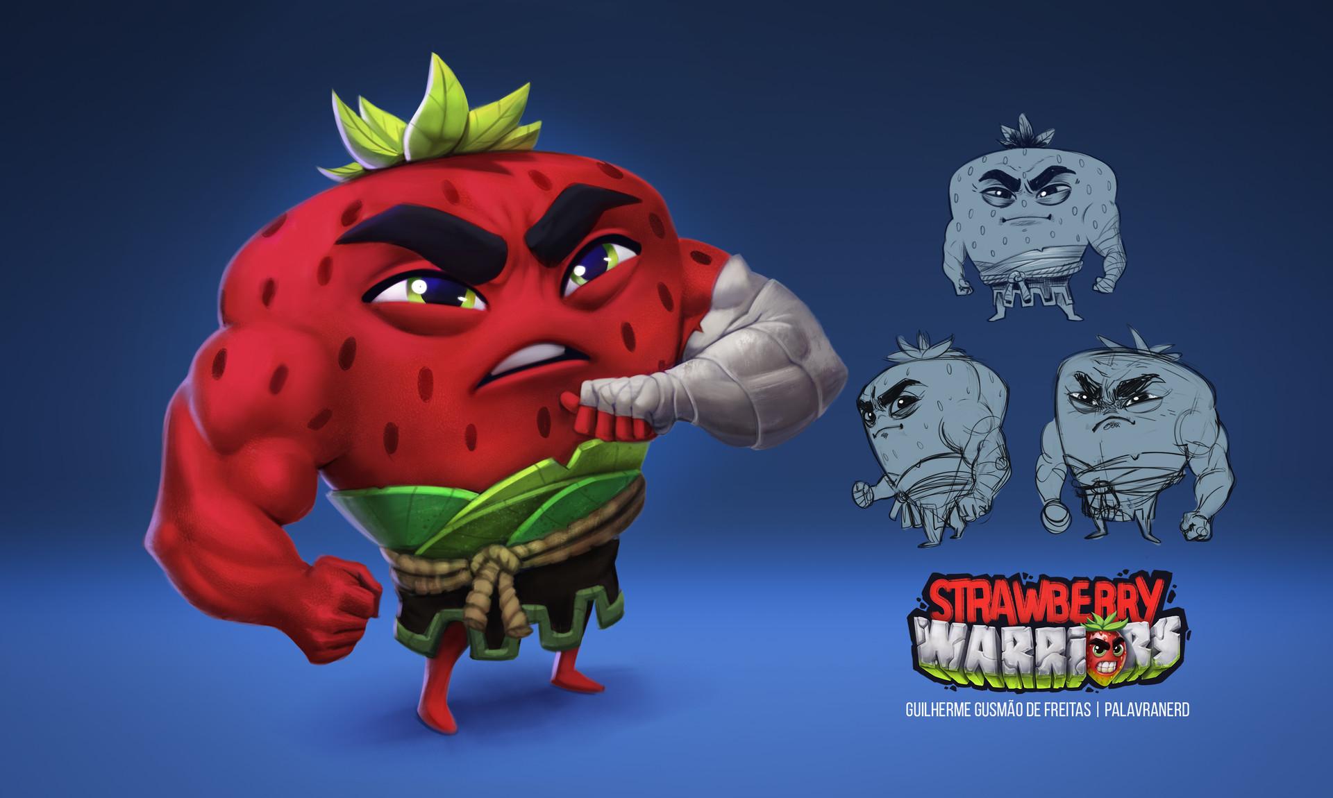 Guilherme freitas strawberry character