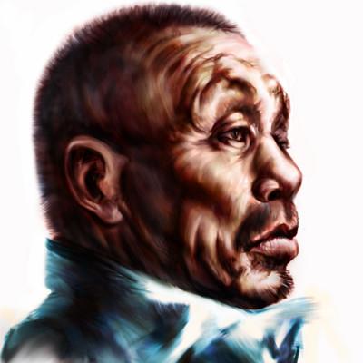 Szilagyi szilard portrait of an old man art