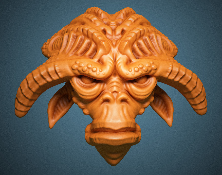 Mike robinson alien horns