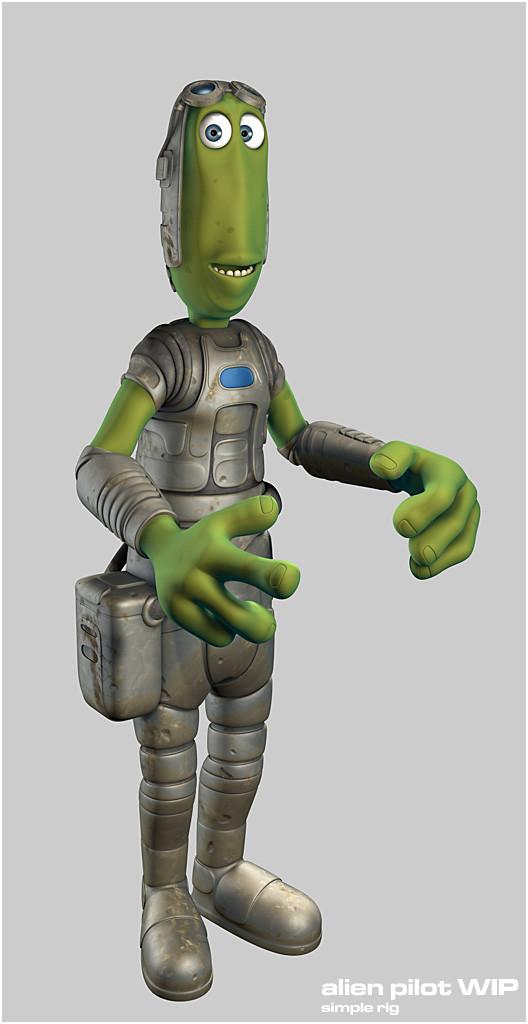 Mike robinson alien rig