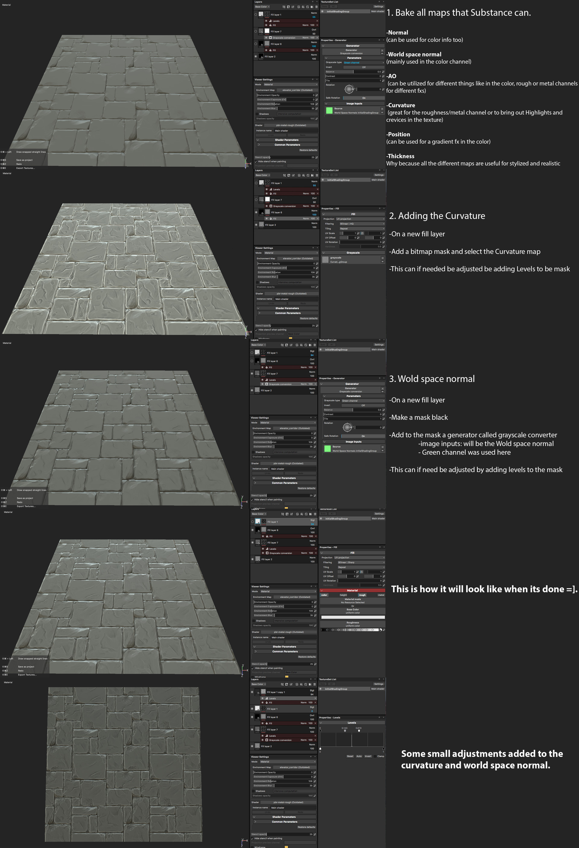 David washington chops layer texture beakdown