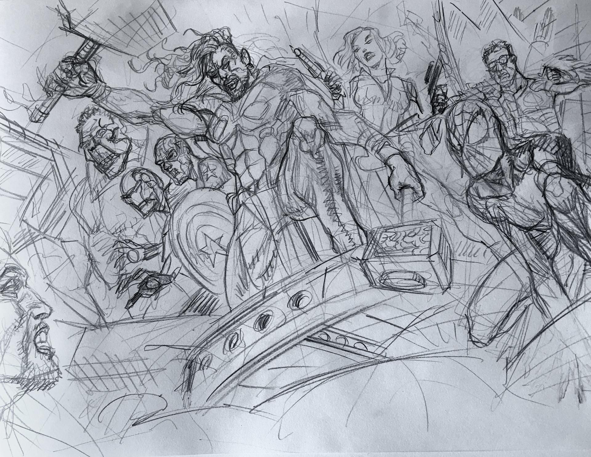 Daniele afferni 14 15 sketches