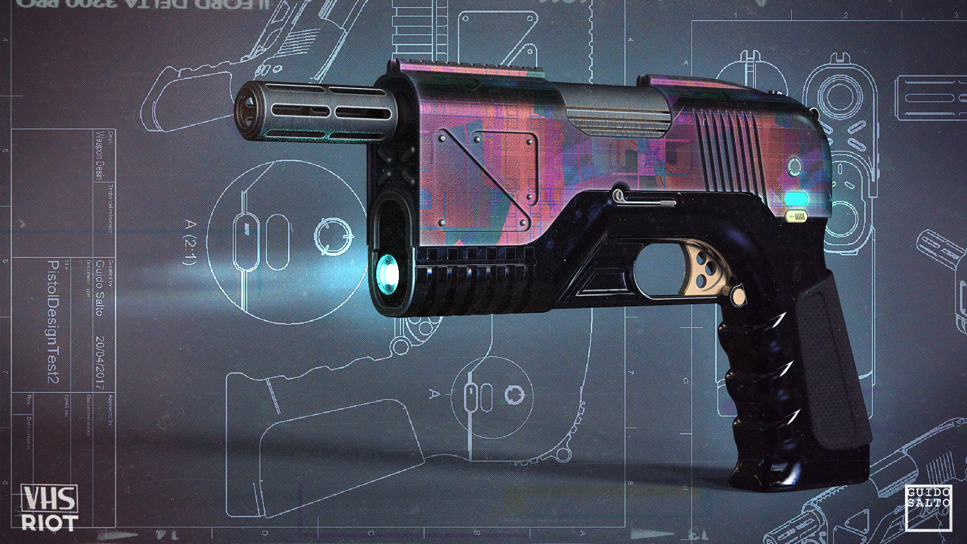 VHS RIOT GUNS